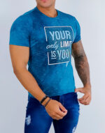 Camiseta Gola O Your only limit is you